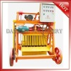 QMJ4-45 good quality mobile used concrete block making machine