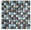 glass mosaic tile purple mix