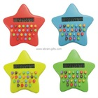 Colorful Pentagram Pocket Calculator