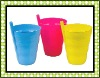 2010 New Plastic Children Cup with straw