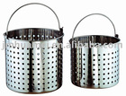 Stainless steel stockpot basket