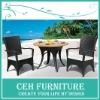 3 pcs sale outdoor wicker patio set (DH-3023)
