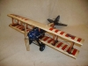 metal model airplane