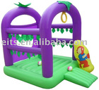 PVC Inflatable Castle With slide