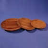 Bamboo serving plates
