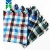 Classic grid 100% cotton big square scarf