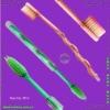 Plastic soft toothbrush