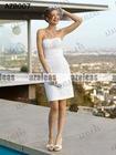 AZB007 Short Bridesmaid Gown Cheap