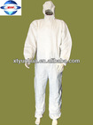 White Disposable Protective Clothing/Tyvek Suit