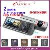 2 Camera car dvr gps