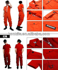 Cheap coveralls wholesale/ OEM accept/print or embroidery any logo