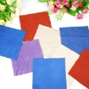 2012 Hot selling Multicolor microfiber cleaning cloth for eyeglasses