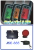 Two-Way Motorcycle Alarm with LCD Display & Indicator