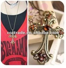 2012 Antique Cross Necklace