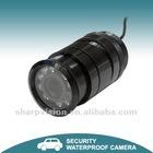 Embedded-type Waterproof Color car cctv camera