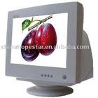 "15"" white CRT monitor"