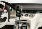 Cigarette Socket Car Charger for iphone3gs/4/4s with Holder