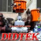 DIDTEK DOUBLE ACTING PNUEMATIC GATE VALVE