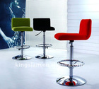 2011 new design fabric bar chair with backrest