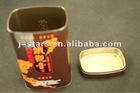 tin box for tea