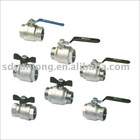 stainless steel ball valves(1pcs ball valves,2pcs ball valves,3pcs ball valves)
