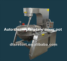 Fully automatic steam planetary mixer pot