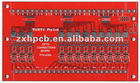 PCB Red color FR-4 PCB manufacturer