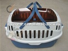 latest plastic pet transport carriers