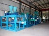 continuous mixer plastic extruder machine for pe/pvc/pp and so on