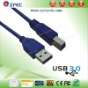Super Speed USB3.0 Cable with USB A Male to USB B Male