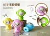 Lovely Changing Face Monkey Coin Bank Money Saving Box