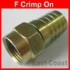 RG6 F Crimp plug