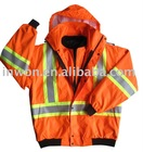 Fluo. Orange Hi Vi PU Waterproof Jackets Workwear