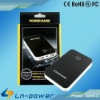 6600mah Dual USB Ports Charger Adapter External Power Bank Battery Station for iphone 4s/ ipad/ Samsung P1000