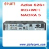 Original Azfox S2S+ IKS Nagra 3 Satellite Receiver
