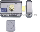 Electronic rim lock, electric door lock, RFID card lock ID811B, manufacturer of electric locks