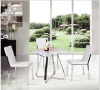 2012 italian design glass metal dining table