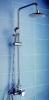Single lever rain shower column set