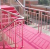 Superior decorative stainless steel curved handrails