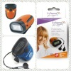 High-grade 7IN1 Multifunctional LCD FM Radio Pedometer Blue with Alarm Clock + Alarming Signal