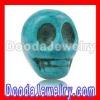 shamballa bracelets parts Teal Turquoise Skull Charm making Jewelry