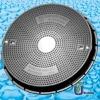 SMC Manhole Cover 600mm C250 drainage cover /composite manhole cover
