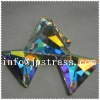 2013 fancy crystal flat back sew on glass beads