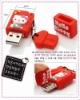 Hello kitty design silicone USB memory