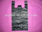 Hot sale small black plastic bag for shopping or grocery