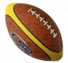4 panels rubber rugby ball