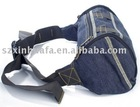(XHF-WAIST-003) belt adjustable denim waist bag