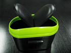 Outdoor Car Plastic Rubbish Bin