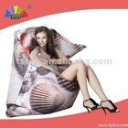 large printing pouffe