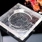 glass crystal ashtray